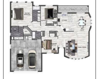 The Valley Model Floor Plan