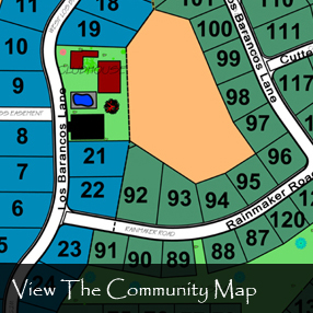 La Estancia Kanab Clubhouse Community Map