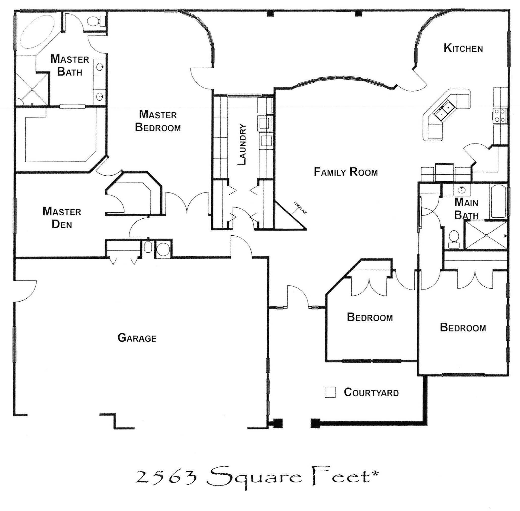 P-Knolls Floor Plan-2